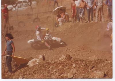 1982: Campione siciliano 125 cross junior su ktm 125