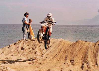 Enduro di Messina, spiaggia di Tono