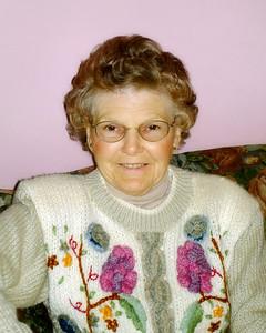Portrait taken by Rachel Spicer, Isobel's granddaughter. Isobel stepped into Glory on Thursday, May 15, 2008.