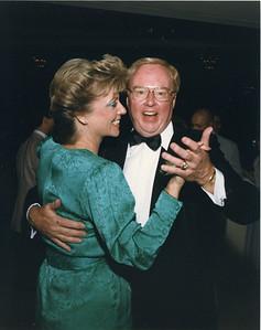 Jack & Karen dancing at wedding of his daughter Dana 5/02/1987