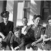 Younng Jack Cherry with his parents and his two aunts, mid 1930's