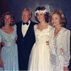 Jack at daughter Brenda's wedding, with daughter Dana and mother of his children Shirley 10/03/1987