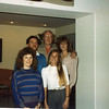 Christmas Eve, Jack with his children Kevin, Brenda, Janet & Dana
