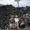 Jack, Karyn and his grandson Perry Strahl 1996