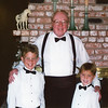 Jack with Grandsons Perry & Kendall Strahl June 2000