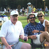 Forest Highlands 4th of July 2001, Jack with daughter Dana and son-in-law Tracy
