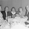 Jack Cherry celebrating his parent's, Doc Cherry & Philomena's 32nd Wedding Anniversary at the Thunderbird Hotel.  His aunt Cecil to his left and Shirley on his right. 12/20/1961