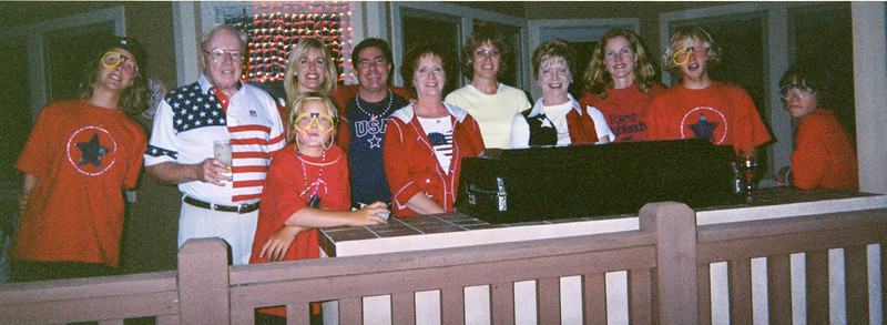 Independence day with family in Forest Highlands 2004