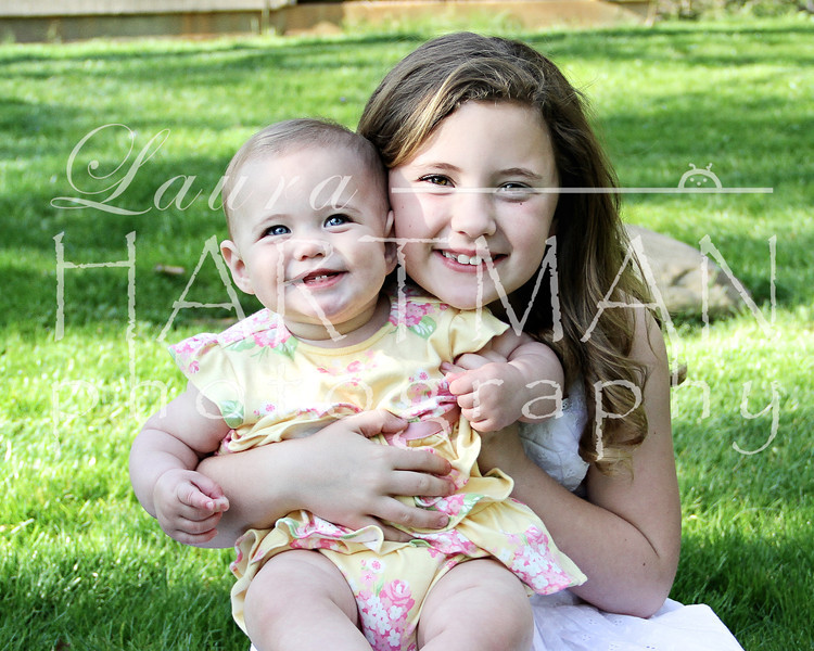 Photographer Favorite. Could they be any cuter? These girls have some eyes!_LH