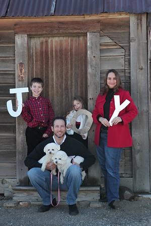 Jacobs Family  November 2012