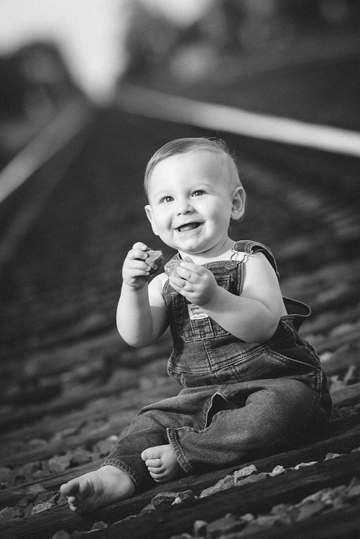 Jase Orchid One Year Portraits