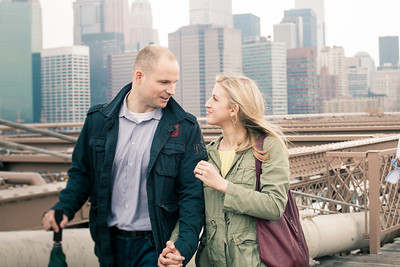 Joergen and Racheal Engagement Portraits