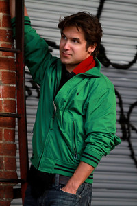 John Jester - Actor, Musician - Photoshoot in Cabbage Town in Atlanta, GA