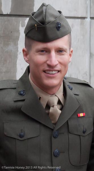 My very favorite Marine!