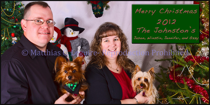 4x8 Christmas Card Johnston's