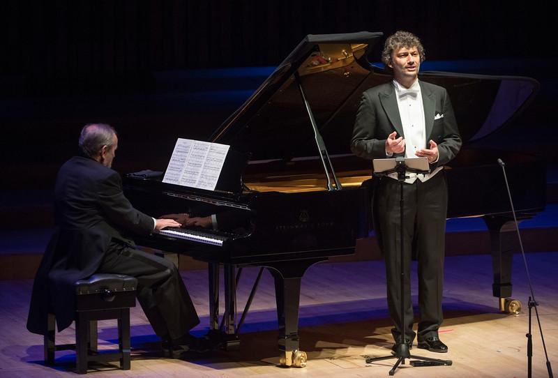 Jonas Kaufmann, Singer performing at the Barbican Hall