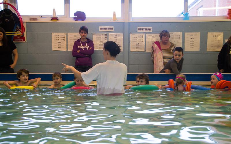 Julies Swim School - January 2014
