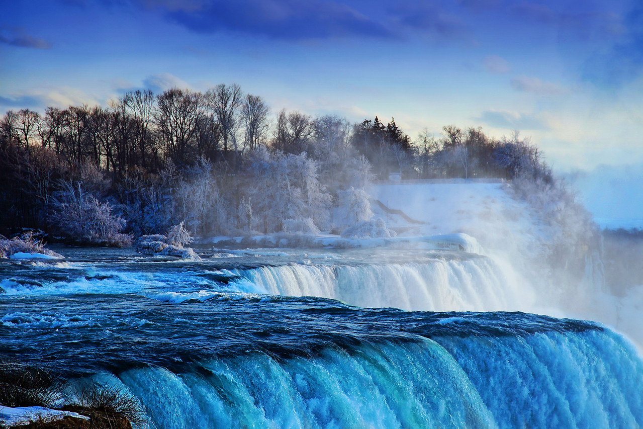 Niagra Falls--View from the US side.
