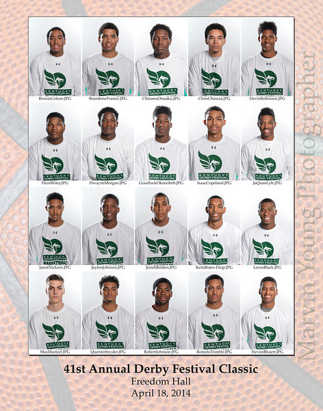 2014 KDF Classic Roster