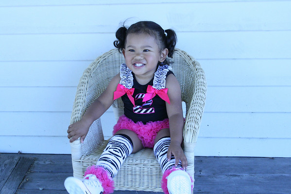 Kaia's 2nd Birthday Mini Photo Shoot