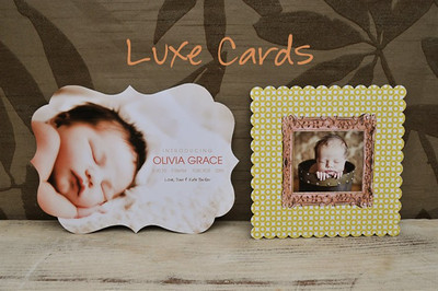 Luxe Cards - Customized Design Cards made just for you!
