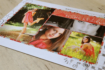 5 x 7 Flat Postcards - use these as High School Graduation invitations!