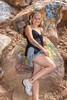 Kara Galligan, Model, Rainbow Falls, Colorado Springs, Colorado