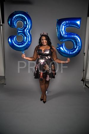 Kathy Holloman 35th Birthday Shoot