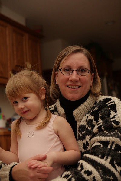 Katie and Mommy