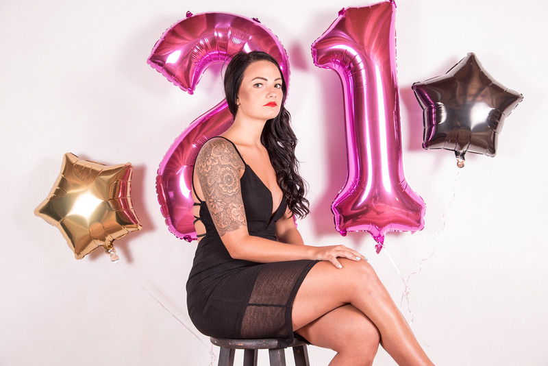 21st Birthday/ Boudoir - Ryan Kendall Photography
