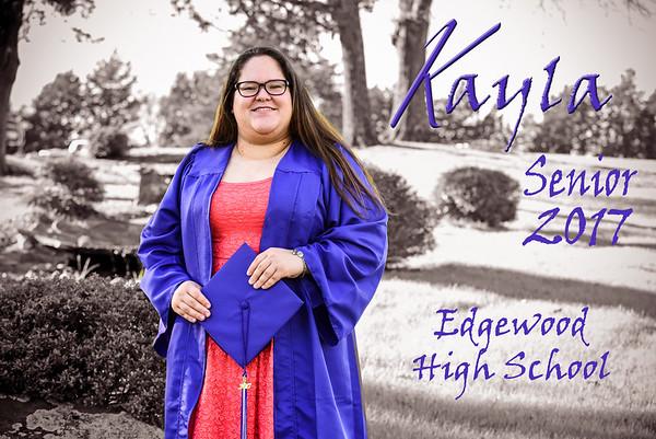 Kayla S graduating Class of 2017  010217