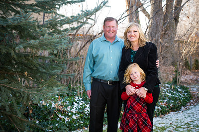 Kelly Family Winter Portraits 2017