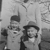Mother's Maid's Suits on boys - April 1950