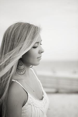Keyleigh's Sweet Sixteen Beach Portrait Session