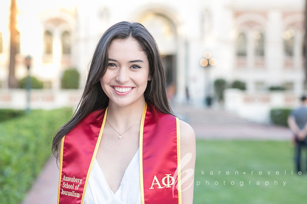 Caleigh :: USC Grad & Family Portraits April 2018