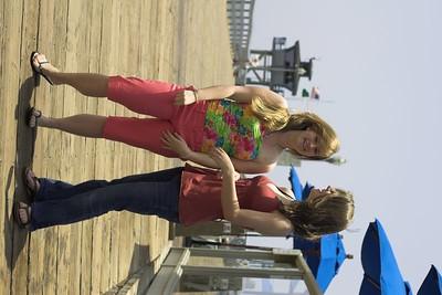 Kimberly and Christina