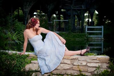 Kimberly at Aquarena Springs