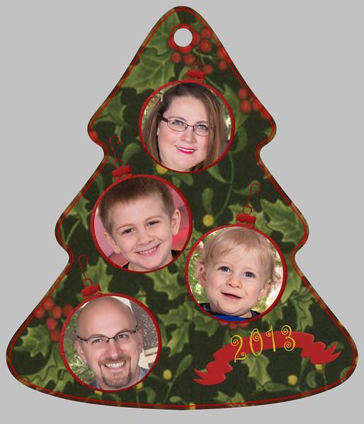 Kirk Tree Ornament side B