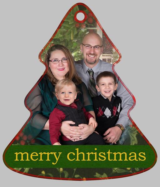 Kirk Tree Ornament side A