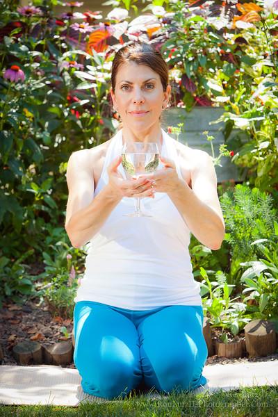 Kristen; yoga; fruit; food; diet; chakras