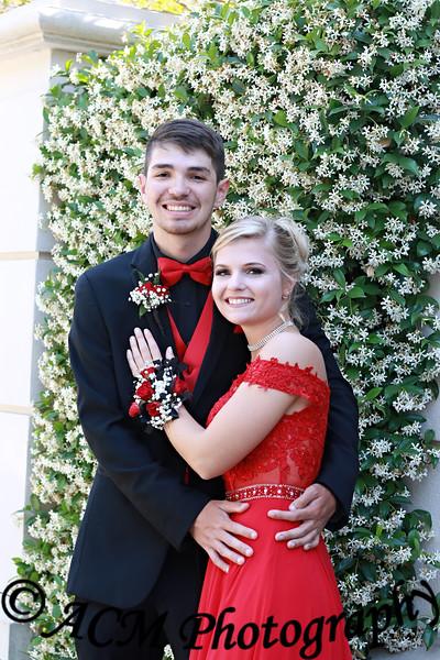 Kyler and Savannah Prom 2018