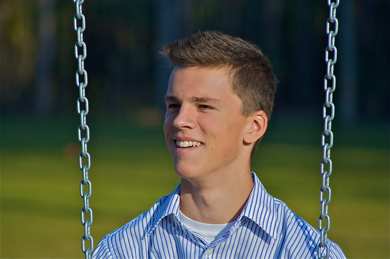 A senior picture.  Courtesy of dad.  Not bad.