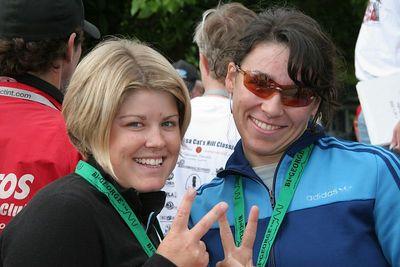 Natalie Mik and Martina Patella