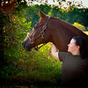 I think the love a woman has for her horse shows, don't you?
