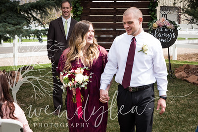 wlc Lara and Ty Wedding day852019