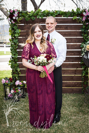 wlc Lara and Ty Wedding day1392019
