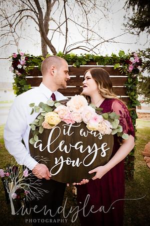 wlc Lara and Ty Wedding day1562019
