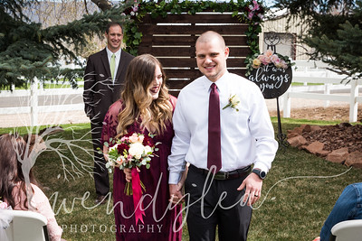 wlc Lara and Ty Wedding day872019