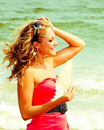 Lauren on the Beach in OCNJ