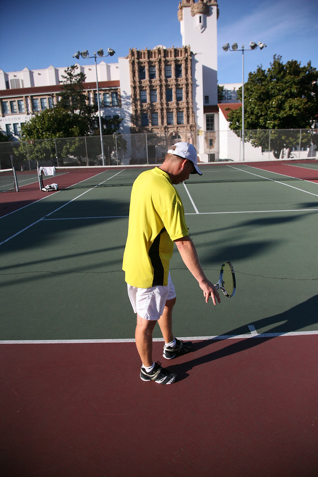 tennis in the Mission District